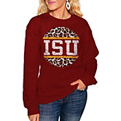 Gameday Couture Women's Iowa State Cyclones Cardinal Perfect Cozy Crew Pullover Sweatshirt