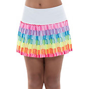 Lucky in Love Girls' Craft Scribble Pleated Skirt