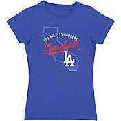 Soft As A Grape Youth Los Angeles Dodgers Royal Jersey T-Shirt