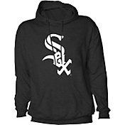 Stitches Men's Chicago White Sox Black Pullover Hoodie