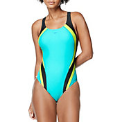Speedo Women's Quantum Fusion Splice One Piece Swimsuit