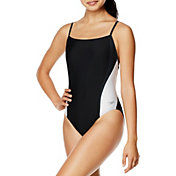Speedo Women's Relay Back Splice One Piece Swimsuit