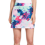 Slazenger Women's Marble Tech Pull On 16'' Golf Skort