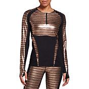Seirus Women's Heatwave Mapped Long Sleeve 1/4 Zip Shirt