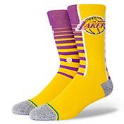 Stance Los Angeles Lakers Hardwood Classic Gradient Socks