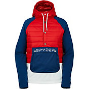 Spyder Women's Glissade Hybrid Insulated Anorak Jacket