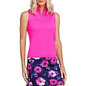 Tail Women's Sleeveless 3/4 Zip Golf Polo