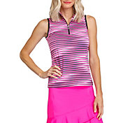 Tail Women's Sleeveless Funnel Neck ¾ Zip Golf Polo