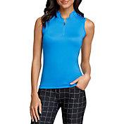 Tail Women's Sleeveless 1/4 Zip Golf Polo