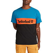 Timberland Men's Youth Culture Cut&Sew Graphic T-Shirt