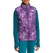 The North Face Girls' Printed Reactor Insulated Vest