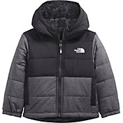 The North Face Toddler Boys' Mount Chimbo Full-Zip Reversible Hooded Jacket