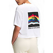 The North Face Women's Pride Graphic Cropped T-Shirt