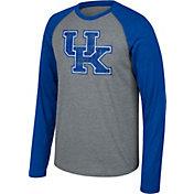 Top of the World Men's Kentucky Wildcats Grey Raglan Long Sleeve T-Shirt