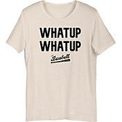 "Baseball Bat Bros Adult ""Whatup Whatup"" T-Shirt"