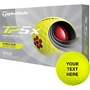 TaylorMade 2021 TP5x Yellow Personalized Golf Balls