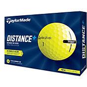 TaylorMade Distance+ Yellow Golf Ball