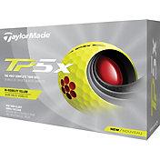 TaylorMade 2021 TP5x Yellow Golf Balls