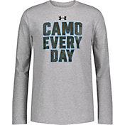 Under Armour Boys' Camo Everyday Long Sleeve T-Shirt