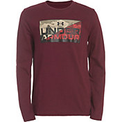 Under Armour Boys' Photo Boxed Long Sleeve T-Shirt