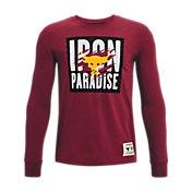Under Armour Boys' Project Rock Live Iron Paradise Long Sleeve Shirt