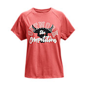 Under Armour Girls' Project Rock Short Sleeve Graphic T-Shirt
