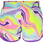 Under Armour Little Girls' Rainbow Fly-By Shorts