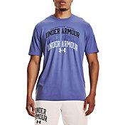 Under Armour Men's Multi Color Collegiate Short Sleeve Graphic T-Shirt