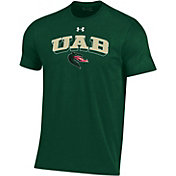 Under Armour Men's UAB Blazers Green Performance Cotton T-Shirt