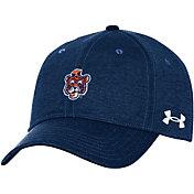Under Armour Men's Auburn Tigers Blue Threadborne Closer Fitted Hat