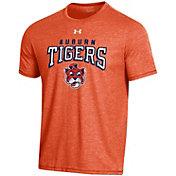 Under Armour Men's Auburn Tigers Orange Bi-Blend Performance T-Shirt