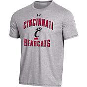 Under Armour Men's Cincinnati Bearcats Grey Bi-Blend Performance T-Shirt