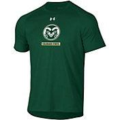 Under Armour Men's Colorado State Rams Green Tech Performance T-Shirt