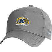 Under Armour Men's Kent State Golden Flashes Grey Performance 2.0 Adjustable Hat