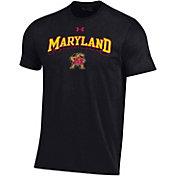 Under Armour Men's Maryland Terrapins Black Performance Cotton T-Shirt