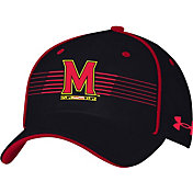 Under Armour Men's Maryland Terrapins Black Iso Chill Adjustable Hat