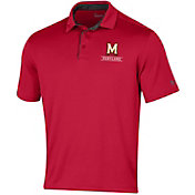 Under Armour Men's Maryland Terrapins Red Tech Polo