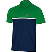 Under Armour Men's Notre Dame Fighting Irish Green Gameday Polo