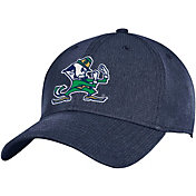Under Armour Men's Notre Dame Fighting Irish Navy Stretch Fit Adjustable Hat