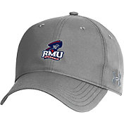 Under Armour Men's Robert Morris Colonials Grey Performance 2.0 Adjustable Hat