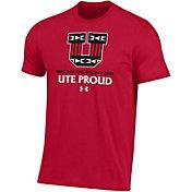 Under Armour Men's Utah Utes Crimson 'Color Out' Performance Cotton T-Shirt