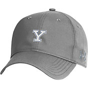 Under Armour Men's Yale Bulldogs Grey Performance 2.0 Adjustable Hat