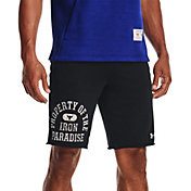 Under Armour Men's Project Rock Terry Property of the Iron Paradise Shorts