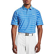 Under Armour Men's Iso-Chill Floral Stripe Golf Polo