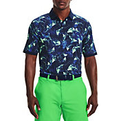 Under Armour Men's Iso-Chill Print Golf Polo