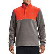 Under Armour Men's Sweater Fleece Pile Golf Pullover