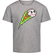 Under Armour Little Boys' Flaming Ball Graphic T-Shirt