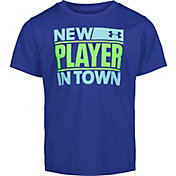 Under Armour Little Boys' New Player In Town Graphic T-Shirt
