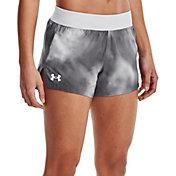 "Under Armour Women's Launch SW Print 3"" Shorts"