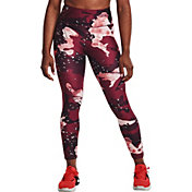 Under Armour Women's Project Rock Printed No-Slip Ankle Crop Leggings